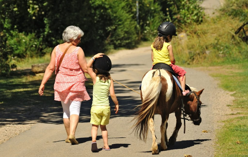 Poney enfants parents
